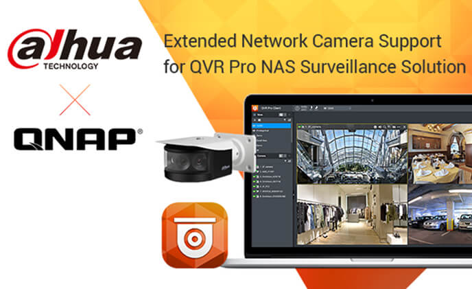 Additional 88 models of Dahua network cameras compatible with QNAP NAS