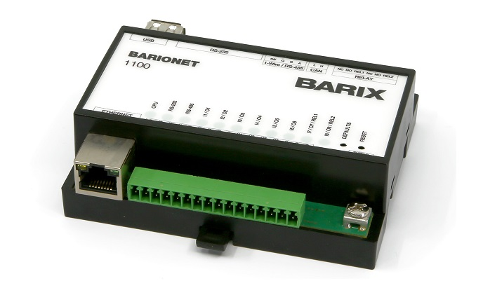 Barix to unveil new family of Linux-based Barionet control devices