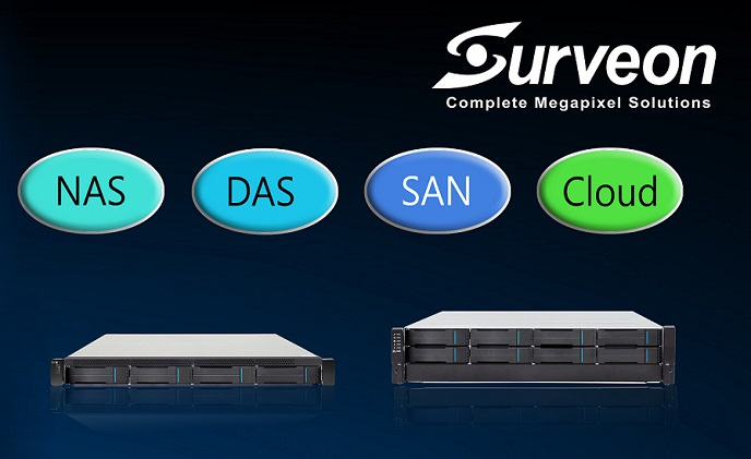Surveon Cloud NVR Solutions provide flexibility to projects