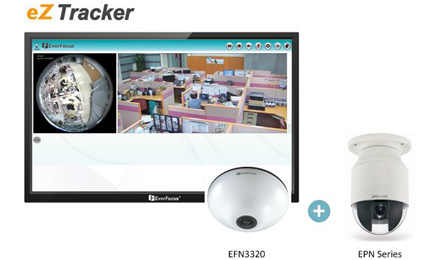 EverFocus new eZ Tracker provides upgraded wide-area surveillance