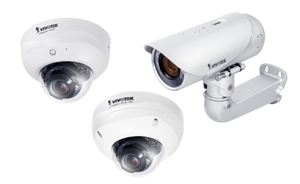 VIVOTEK launches four new 5-megapixel network cameras