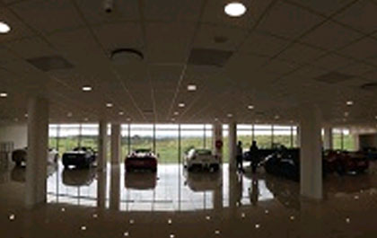 Ford dealership in South Africa protected by Brickcom IP Cameras