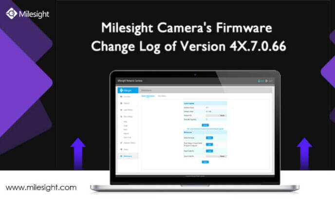 Milesight Camera's firmware change log of version 4X.7.0.66
