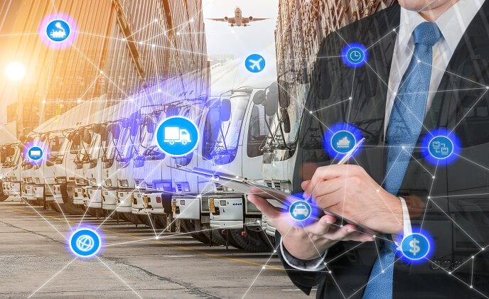 What's driving the smart logistics concept?
