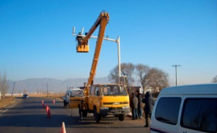 ALCON provides wireless transmission to highway in Inner Mongolia