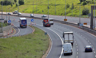 Norbain Streamlines UK Motorway Traffic Flows