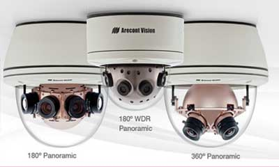 Arecont Vision unveils SurroundVideo 12MP 360 degree panoramic cam with WDR