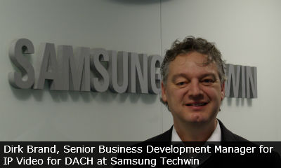 Samsung Techwin appoints Senior Biz Dev Manager for IP Video in DACH