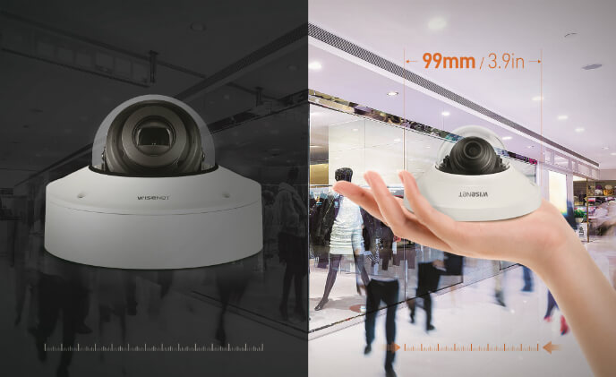 Hanwha Techwin launches new 99-mm super-compact Wisenet Q mini series