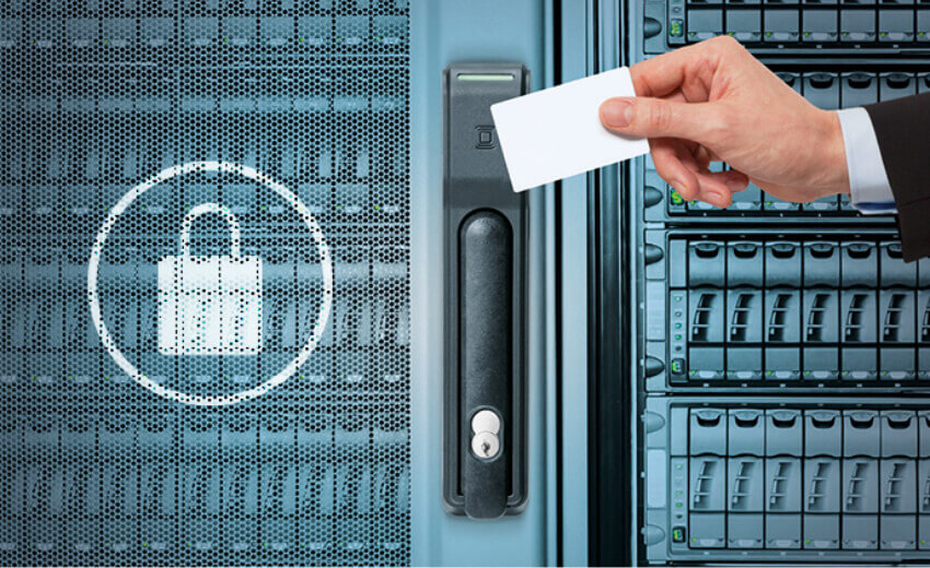 Physical security for servers is important for your data