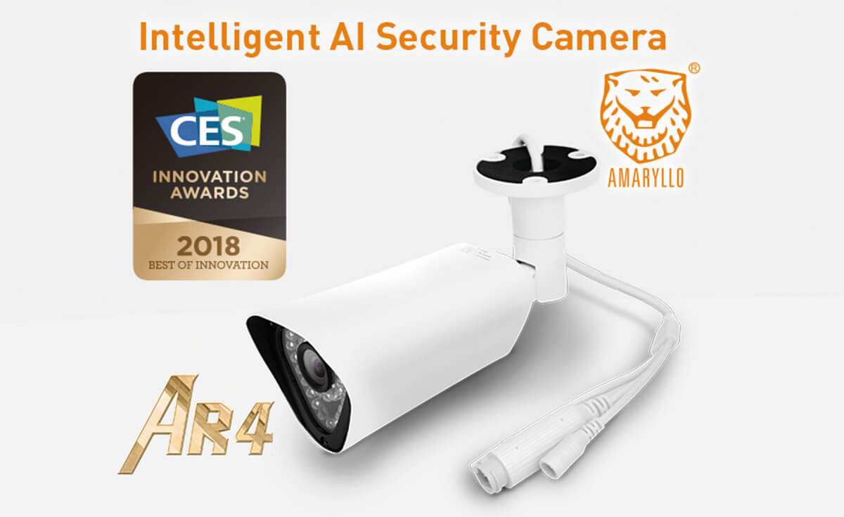 AMARYLLO wins 2018 CES Best of Innovation Awards