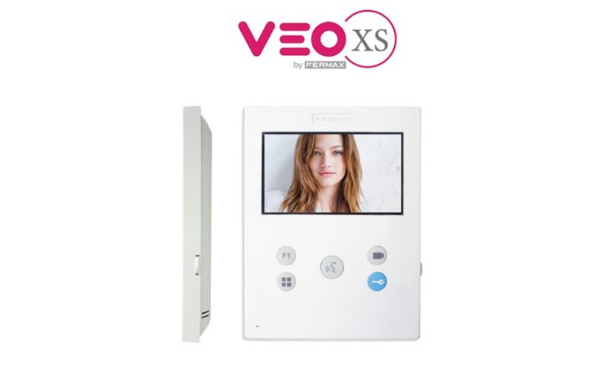 Fermax VEO-XS: extra small door entry monitor with maximum performance