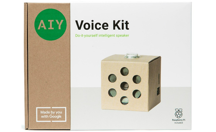 Google's AIY Kits help users create smart speaker and smart camera