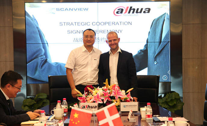 Dahua Technology secures strategic partnership with Scanview Systems