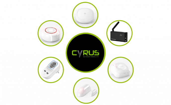 Cyrus turns outdoor profession to indoor smart connection