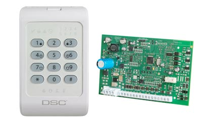 Tyco/DSC introduces PowerSeries control panel and keypad