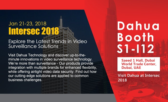 Visit Dahua at Intersec 2018