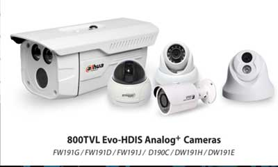 Dahua launches 800TVL analog cameras