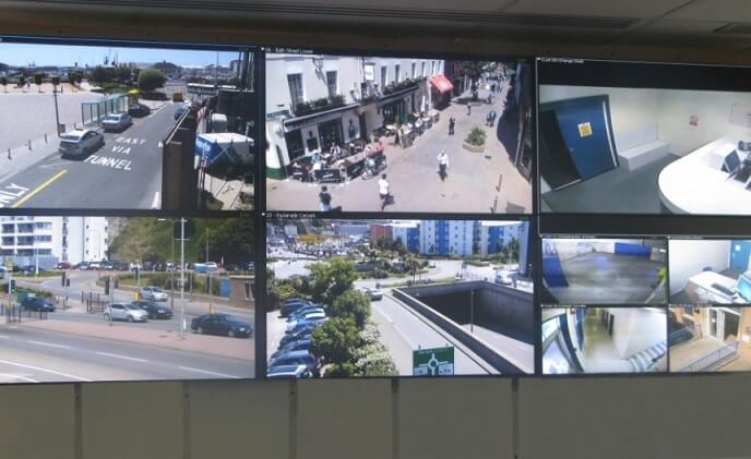Redvision cameras help protect St Helier, Jersey