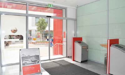 German credit union ups security and lowers cost at 64 branches with centralized surveillance