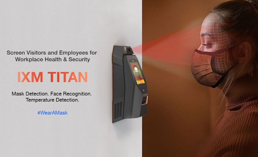 Invixium brings mask detection and face recognition while wearing a mask to IXM TITAN