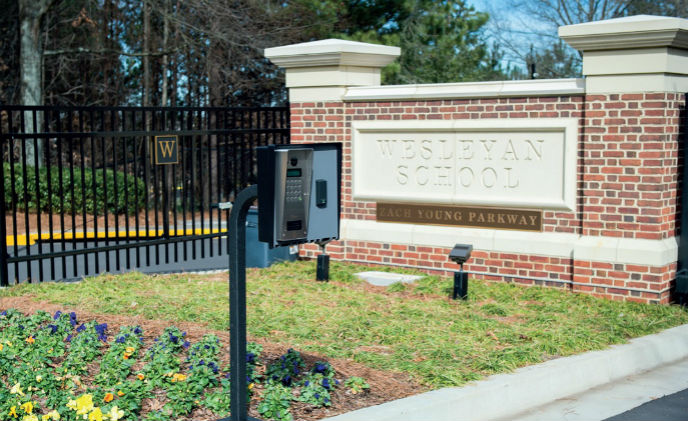 Paxton Net2 access control provides secure education environment at Wesleyan School
