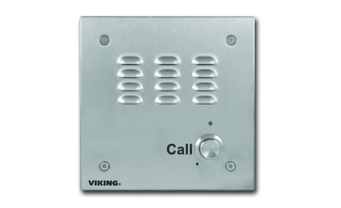 Viking's E-30-IP provides handsfree VoIP SIP communication