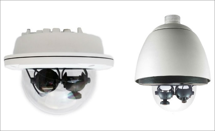 PiXORD debuts dual lens PS760D panorama network camera