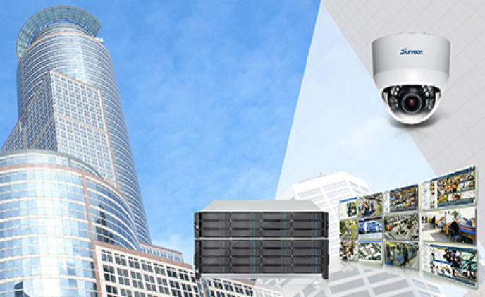 Surveon protects buildings with enterprise surveillance solutions
