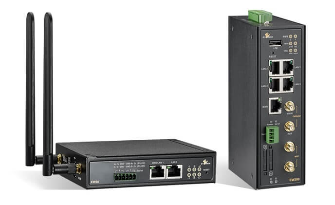 EtherWAN industrial cellular gateways bring multipath functionality to remote applications