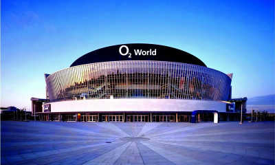 Berlin multipurpose arena upgrades video and fire warning systems