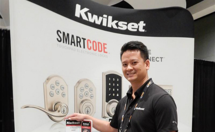 [CEDIA Expo 2015] Kwikset announces compatibility of Smartcode door locks with Crestron control systems
