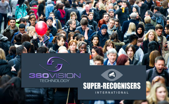 360 Vision Technology partner with Super Recognisers International