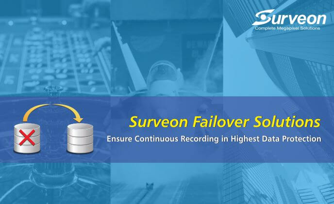 Surveon failover solutions: continuous recording with highest protection
