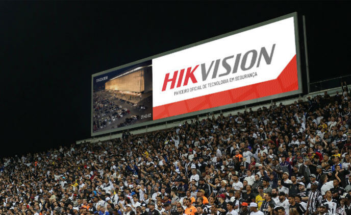 Hikvision announced partnership with  Sao-Paolo based Corinthians