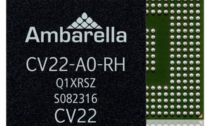 Ambarella introduces 4K SoC with computer vision architecture