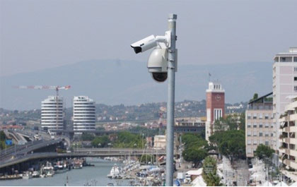 Dahua solution watches over Italian Pescara Port