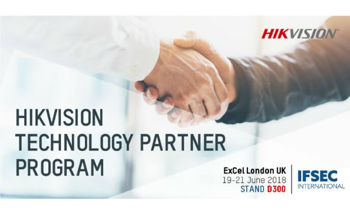 Hikvision expands its Technology Partner Program at IFSEC 2018