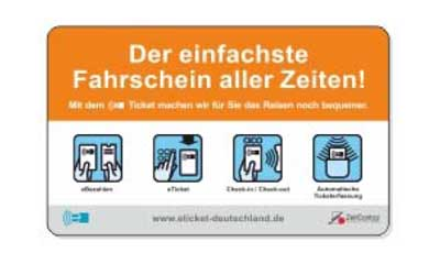 German National Transportation and ZeitControl cardsystems cooperate e-tickets
