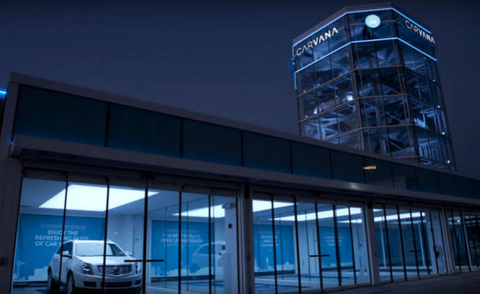 ASSA ABLOY innovative door solutions enhance Carvana's 'wow factor'