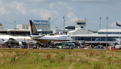 New Zealand airport tightens access for personnel and temp visitors