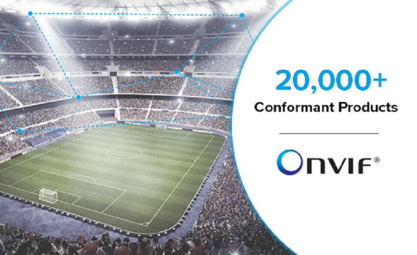 ONVIF reaches milestone of 20,000 conformant products