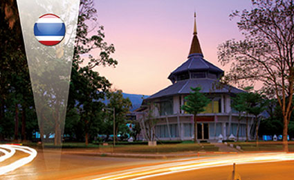 GKB IP solutions improve security at Chiang Mai University