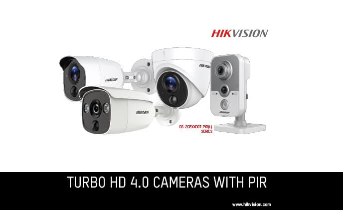 Hikvision launches Turbo HD 4.0 camera with PIR