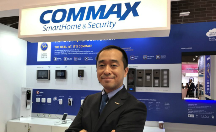 """Glocalization"" fortifies COMMAX's muscle on home IoT business from professional security industry"
