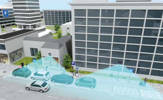 Sensors bring intelligence for smart parking management