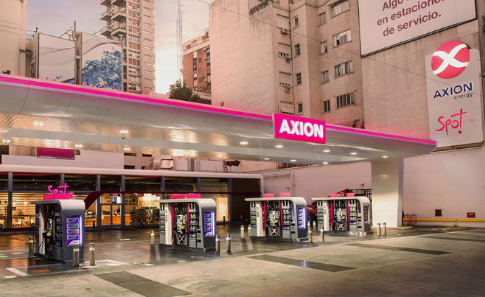 Axxon Next VMS used for Axion Energy oil company