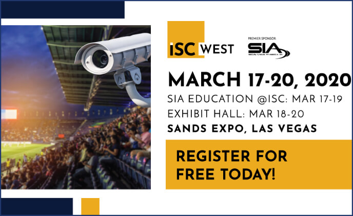 ISC West 2020 will take place at the Sands Expo in Las Vegas