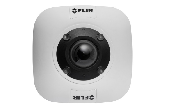 FLIR Quasar hemispheric mini-dome camera
