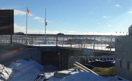 OPTEX protects Canada's construction sites in harsh weather conditions
